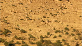 Heat haze. Static shot of heat haze effect in desert. Real footage. Shot on Canon 5D Mark II with Prime L Lenses stock video footage