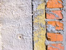 Heat isolation in the wall royalty free stock photography
