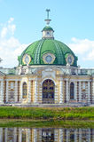 Heat Moscow  The palace and park ensemble Kuskovo graphs Sheremetevs XVIII-XIX centuries  Grotto 1756-1761 architect Argunov Augus Royalty Free Stock Image