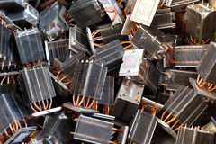 Heat pipes royalty free stock image