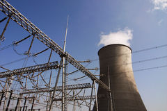 Heat power plant Stock Image