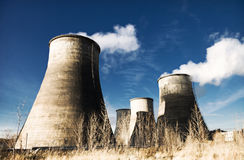 Heat and power plant Stock Images