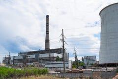 Heat power plant Royalty Free Stock Photo