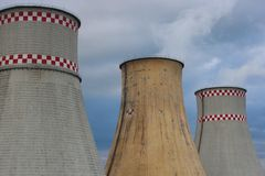 Heat and Power Plant Stock Image