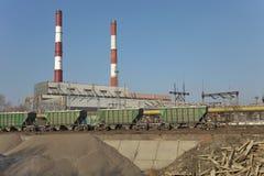 Heat power station Stock Image