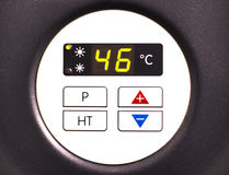 Heat pump display Stock Photo