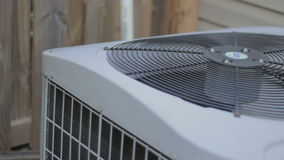 Heat pump fan stock footage