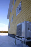 Heat pump warming Stock Photos