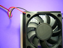 Heat Radiator fans Royalty Free Stock Photography