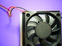 Heat Radiator fans. Heat radiator electronical fans Royalty Free Stock Photography
