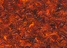 Heat red lava texture. Of eruption volcano Stock Images