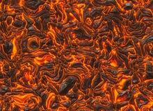 Heat red lava texture of eruption volcano. Heat red lava texture background of eruption volcano Stock Photos