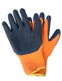 Heat resistant gloves. Technician tools Royalty Free Stock Photography