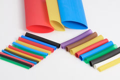 Heat Shrink Tubing Stock Image