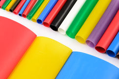 Heat Shrink Tubing Royalty Free Stock Photos