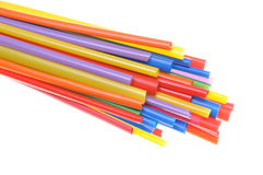 Heat shrink tubing components for cables isolation Royalty Free Stock Photography