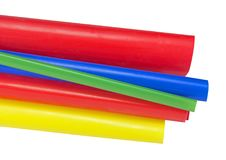 Heat Shrink Tubing. To protect cables isolation Royalty Free Stock Photo