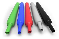 Heat-shrink tubing Royalty Free Stock Photos