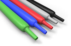 Heat-shrink tubing Royalty Free Stock Photography