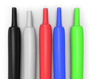 Heat-shrink tubing Royalty Free Stock Photo