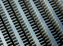 Heat Sink. Close Up Of Heat Sink Royalty Free Stock Photos