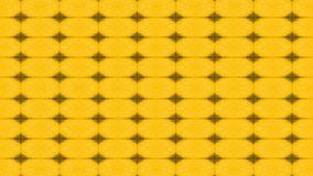brown stars on the yellow background Stock Photography