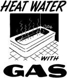 Heat Water With Gas Stock Images