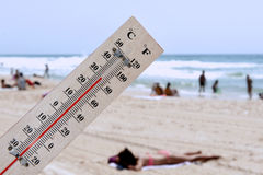 Heat Wave High Temperatures stock photography