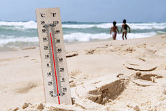 Heat Wave High Temperatures Royalty Free Stock Image
