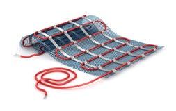 Heated пол изолированный на белизне бесплатная иллюстрация