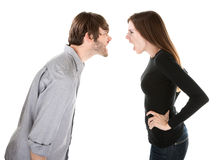 Heated Argument Royalty Free Stock Photos