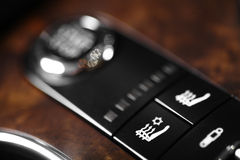 Heated seats Royalty Free Stock Images