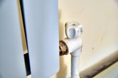 Heater Control Robinet à tournant sphérique image stock