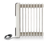 Heater. Electric powered radiator heater heating royalty free stock photography