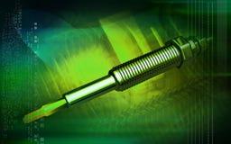 Heater plug Stock Image