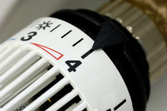 Heater regulation Royalty Free Stock Images