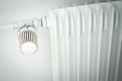 Heater with thermostat Stock Image