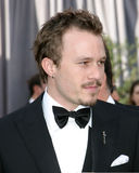 Heath Ledger imagem de stock royalty free