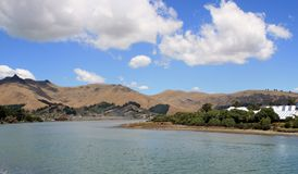 Heathcote River near Ferrymead Stock Photos