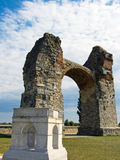 Heathen of the ancient Roman settlement Carnuntum Stock Photo