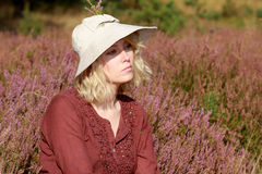 The heather with the autumn Royalty Free Stock Photos
