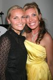 Heather Dorak and Jacquie Blaze. At the Mansion Party Hosted By British Talk Show Host Jacquie Blaze. Private Residence, Beverly Hills, CA. 12-07-07 Stock Images