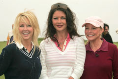 Heather Locklear,Catherine Zeta-Jones,Cheryl Ladd,Michael Douglas Royalty Free Stock Photos