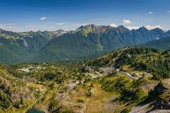 Heather Meadows, Mt , Washington fotografia stock