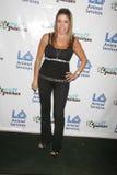 Heather Michaels an Tag St. PAWtricks, ein grünes Annahmeereignis stellte sich durch LA Tierdienstleistungen, Osttal-Tierheim, Van Lizenzfreie Stockfotos