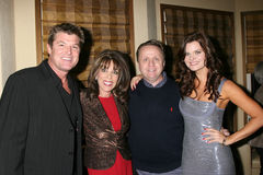 Heather Tom, Kate Linder, Michael Maloney, Winsor Harmon Stock Photos