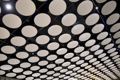 Heathrow airport ceiling Stock Photos