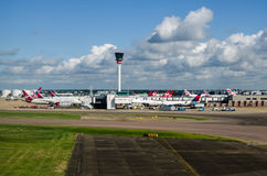 Heathrow Airport control tower Royalty Free Stock Photo