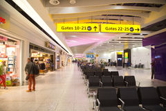 Heathrow airport Royalty Free Stock Photography