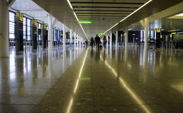 Heathrow Airport - Terminal 2 Royalty Free Stock Photo